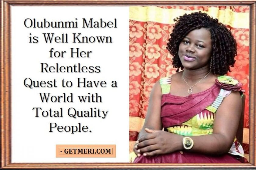 Icon of Merriment: Olubunmi Mabel